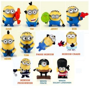 Les Minions 11 figurines Mac Do.