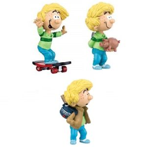 Cédric 3 figurines Dupuis Plastoy 2004
