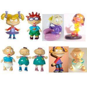 Razmoket 9 figurines 1997 1998 Viacom