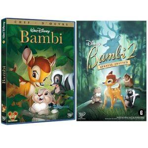 Bambi 1 et Bambi 2 (Spéciale édition) DVD disney