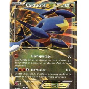 Carchacrok EX Carte Pokemon