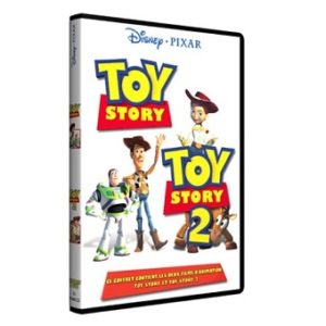 Coffret Toy Story 1 et 2 DVD Disney