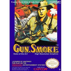 Gun.SMOKE Jeu Nes Original Nintendo 1987