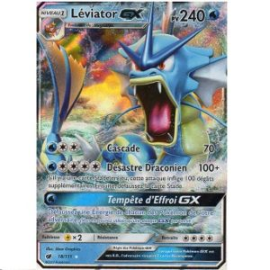 Léviator GX Carte Pokemon