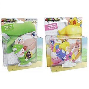 Luigi et Peach Figurine Mario et Les Lapins Crétins Kingdom Battle 8 cm