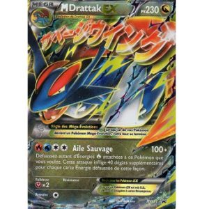 M Drattak EX Carte Pokemon