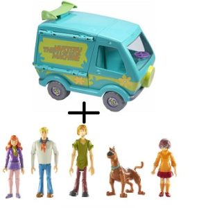 Scooby Doo - Mystery Machine Lansay + 5 figurines