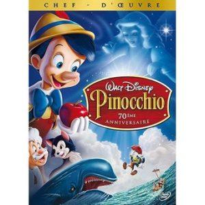 Pinocchio DVD Disney (2 DVD) 70ème Anniversaire