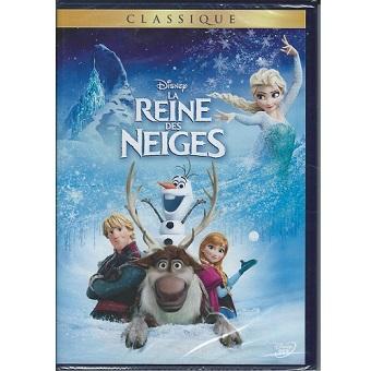 Reine des Neiges DVD Disney Neuf