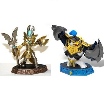 skylanders imaginators 2 figurines Golden Queen et Master King Pen