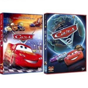 Cars 1 et 2 DVD classique Disney