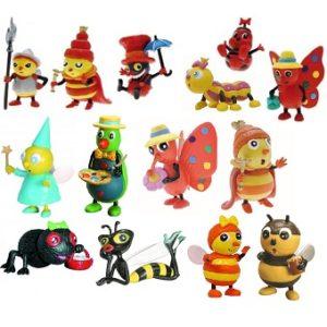 Drôles de petites bêtes Lot 14 Figurines.