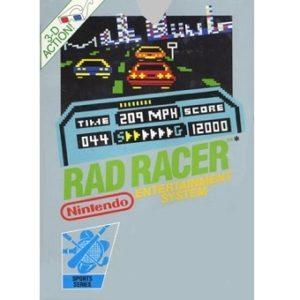 RAD RACER Jeu Nes Original