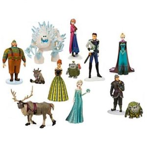 Lot Reine des Neiges de 12 figurines.