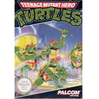 TEENAGE MUTANT HERO TURTLES Jeu Nes Original