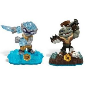Skylanders Swap force Rubble Rouser+Nitro Freeze blade
