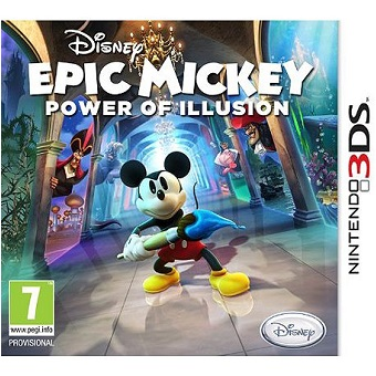 Epic Mickey Power of illusion Jeu 3DS