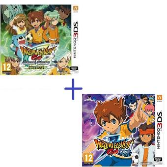 Inazuma Eleven GO Ombre + Inazuma Eleven GO Chrono Stones Tonnerre jeux 3DS