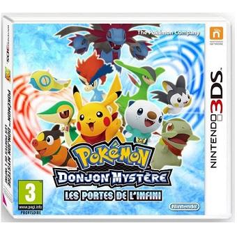 Pokémon Donjon Mystère Les Portes de L'Infini jeu 3DS