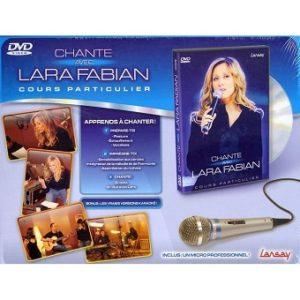Chante avec Lara Fabian coffret DVD + Micro Neuf sous blister