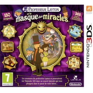 Professeur Layton et le masque des miracles Jeu 3DS