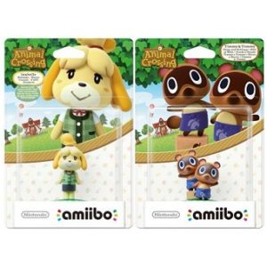 Amiibo Animal Crossing Figurines Marie en tenue d'été + Méli et Mélo.