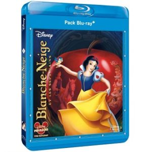 Blanche Neige et les 7 Nains Pack Blu-Ray+DVD Disney N°1