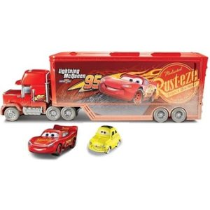 Camion Mack Transporteur transformable Cars MATTEL