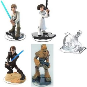 Star Wars Disney Infinity 3,0 4 figurines + Monde Star Wars