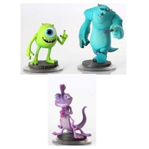Disney Infinity Monstre Academy 3 figurines + monde Monstre Academy+1 carte