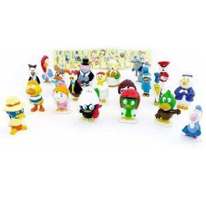 Caliméro figurines plastique, Série 1 de 20 figurines Caliméro & Company.