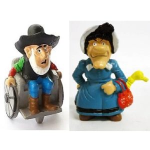 Ma Dalton et Oldtimer Figurines Lucky Luke de 1984 SCHLEICH