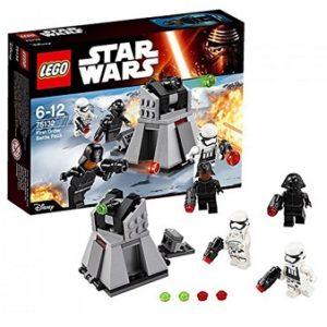 LEGO STAR WARS 75132 Pack de combat du Premier Ordre Neuf Boite Très légèrement enfoncé