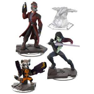 Les Gardiens de la Galaxie DISNEY INFINITY 2.0 3 figurines Marvel + Monde.
