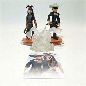 Lone Ranger Disney Infinity lot de 2 figurines + Trophée.