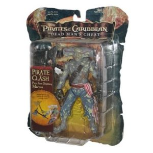 Maccus figurine Pirates des caraïbes Dead Man's chest 2006 Pirate Clash Pick-Axe Slashing Neuf