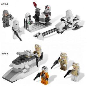 LEGO Star Wars 8083 et 8084 Rebel Trooper™ + Snowtrooper™ Battle Pack