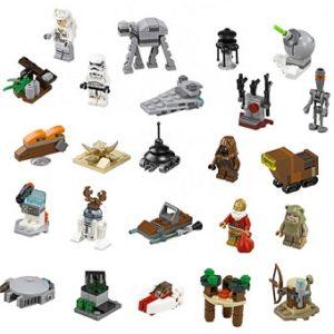 LEGO Star Wars 75097 Calendrier de l'Avant complet sans boite ni notice.