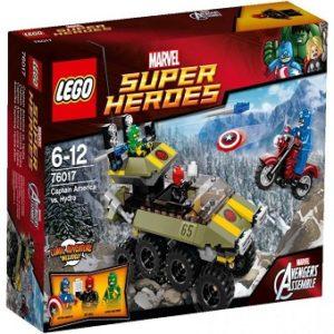 LEGO Marvel super Heroes 76017 CAPTAIN AMERICA CONTRE HYDRA avec boite sans notice