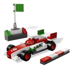 LEGO Cars 9478 FRANCESCO BERNOULLI avec notice sans boite.
