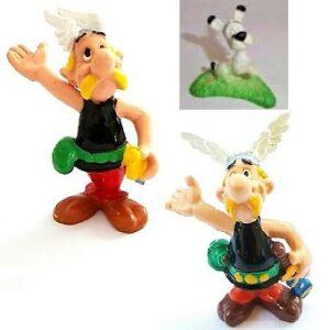 3 figurines Astérix et Obélix Bullyland 1990 Germany