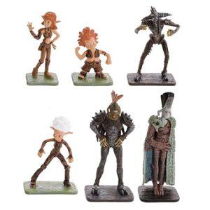 Arthur et les Minimoys 6 figurines sur socles d'occasion Lansay