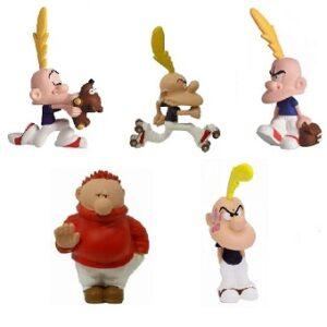 4 Titeuf + Hugo 5 figurines d'occasion Plastoy 2003