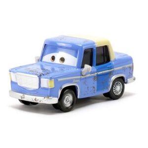 Otis Voiture cars Bleu et toit Beige yeux fixes rare
