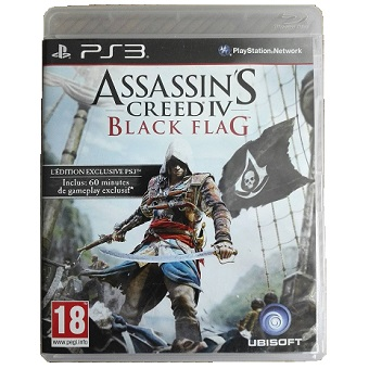 Assassin's Creed IV Black Flag Edition Exclusive jeu PS3 d'occasion