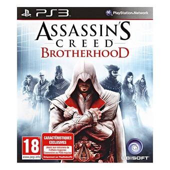 Assassin's Creed Brotherhood jeu PS3 d'occasion.
