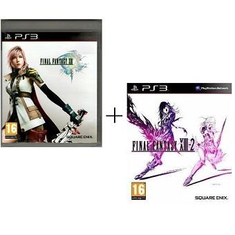 Final Fantasy XIII + XIII-2 jeu PS3 d'occasion
