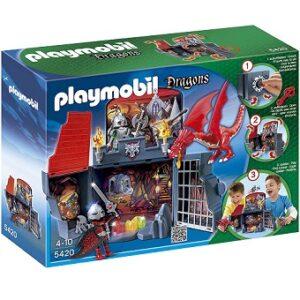 Playmobil 5420 Dragons Coffre Chevaliers dragons