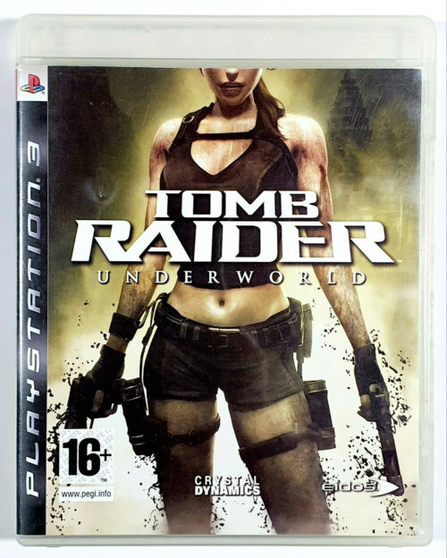 Tomb Raider Underworld PS3 jeu d'occasion