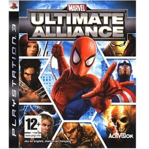 Marvel Ultimate Alliance PS3 jeu d'occasion